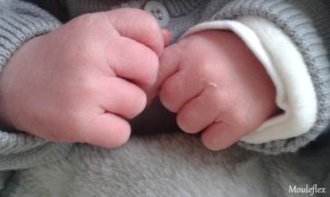 Quelques heures après sa naissance