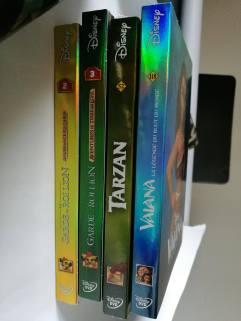 DVDs Disney